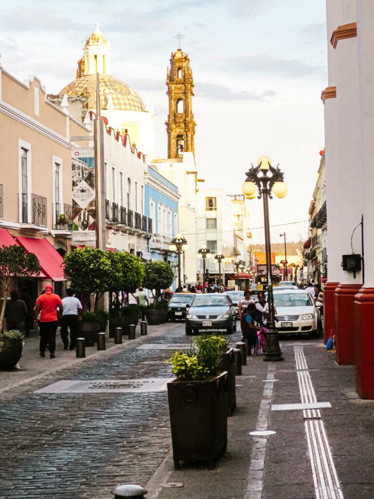 de straten van Puebla