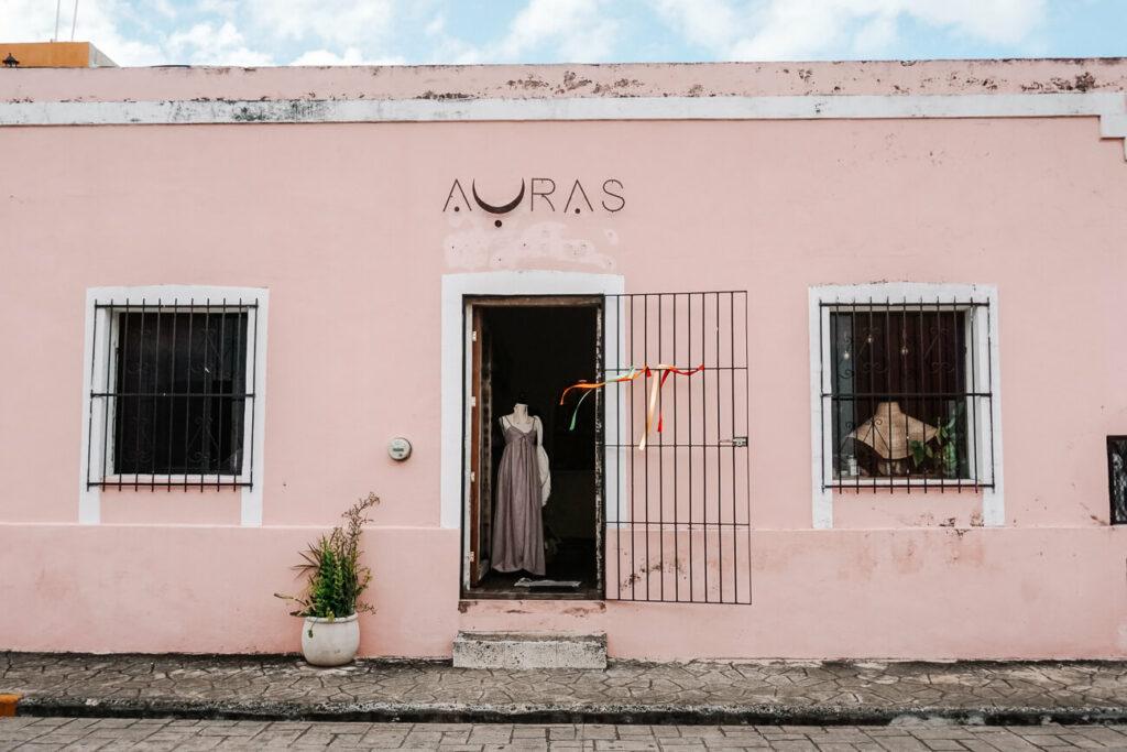 mooie winkels in Valladolid in Mexico