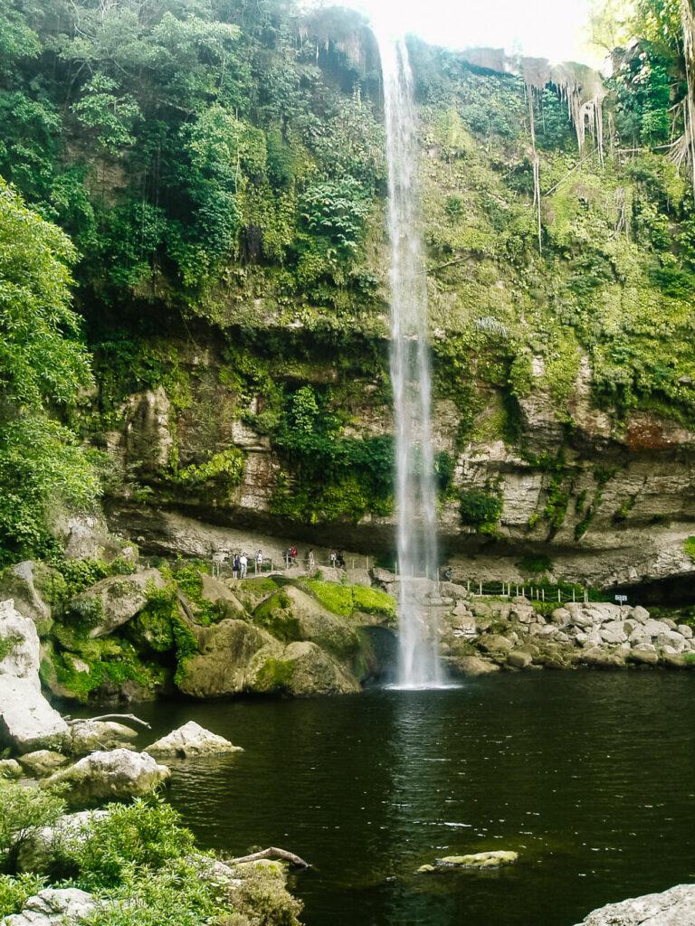 waterval van Misol Ha palenque