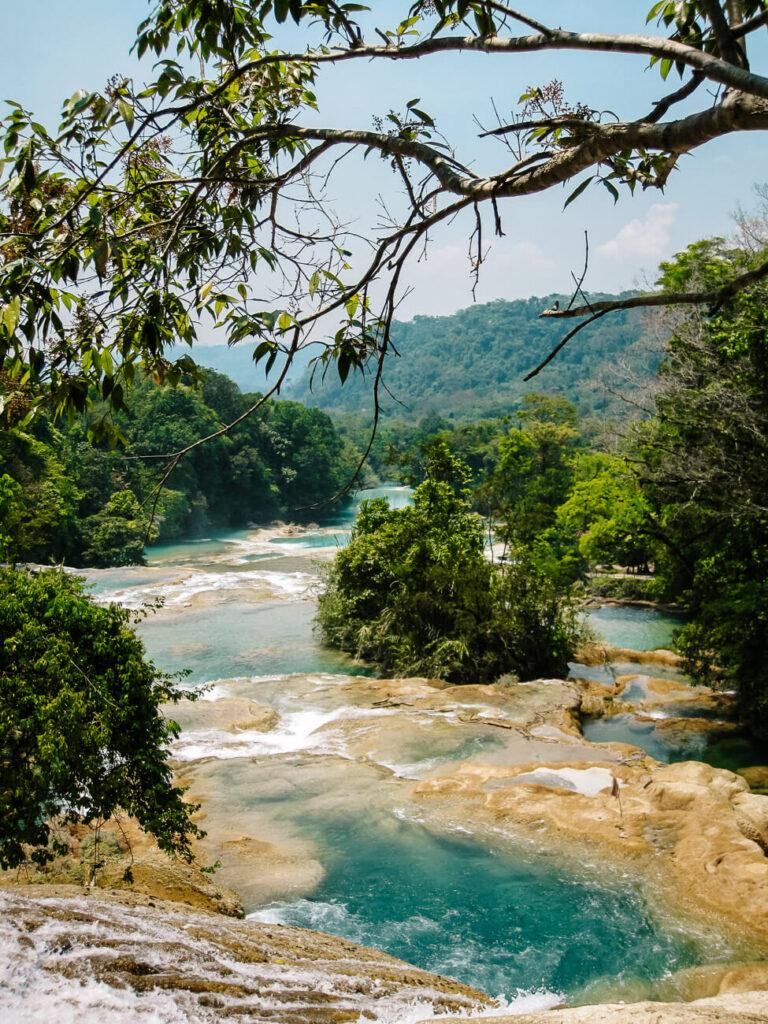 waterval van rondom palenque