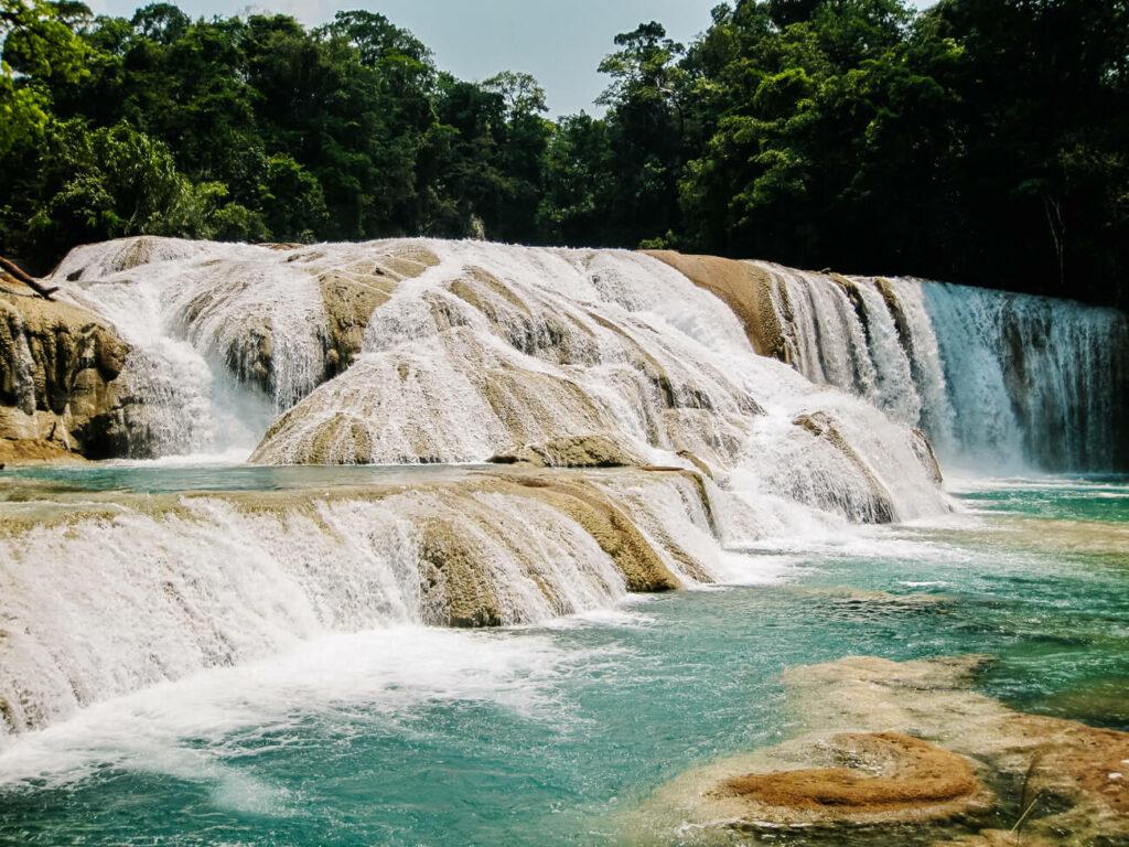 watervallen rondom Palenque