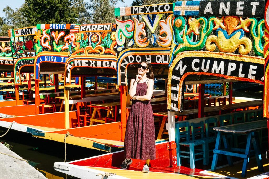 de drijvende ruinen van Xochimilco