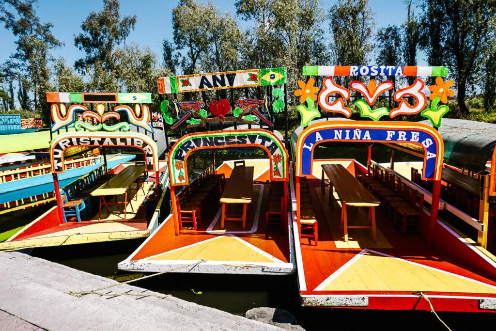 boten in xochimilco