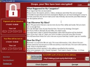 gijzelsoftware, ransomware, virus, malware, malafide software, cryptoware
