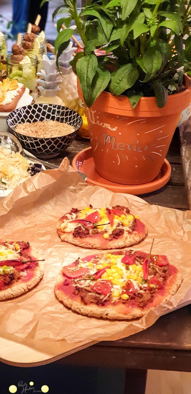 Dinkelvollkornpizza mit Maismehl