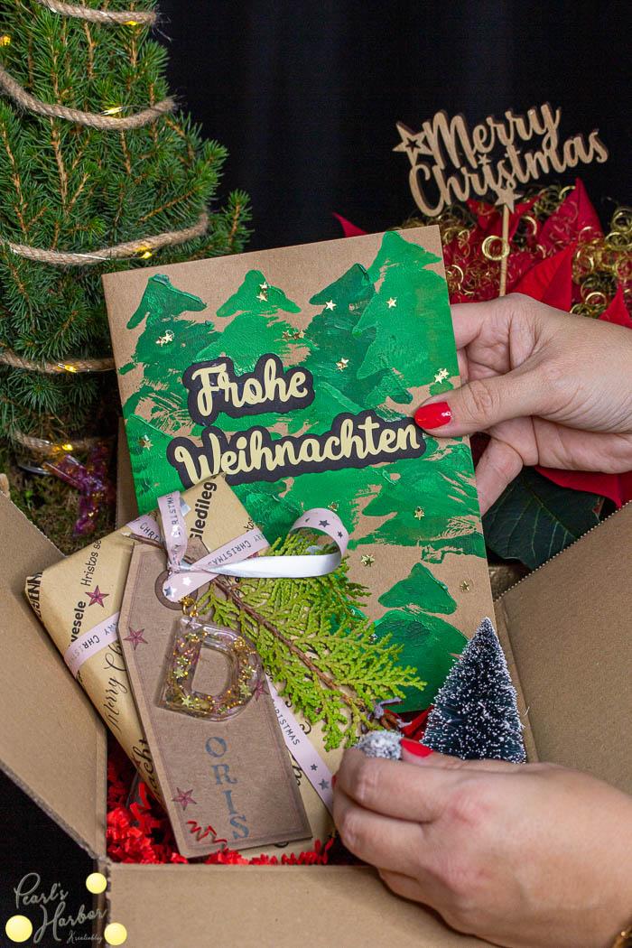 Weihnachtskarte basteln