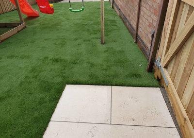 full garden redesign