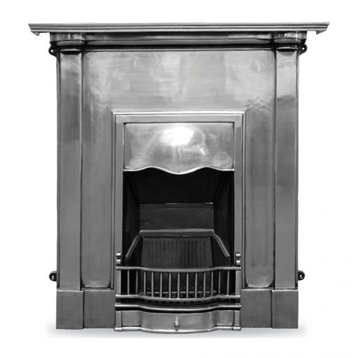 HEF355 Abingdon victorian cast iron carron fireplace polished