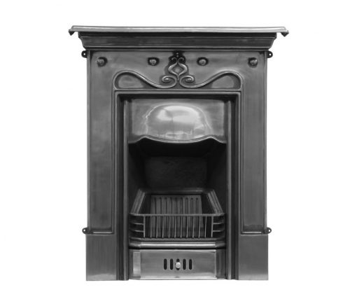 RX059 Tulip Fireplace by Carron Edwardian cast iron Art Nouveau