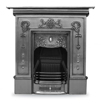 RX060 Bella fireplace Victorian period Carron cast iron polished fire