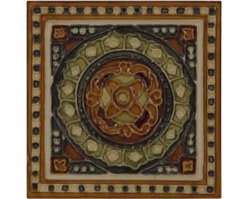 Victorian fireplace tiles LGC095 tube lined fireplace tiles