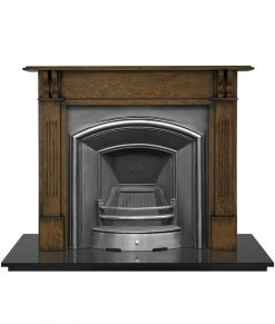 London Plate fireplace insert Carron cast iron RX205