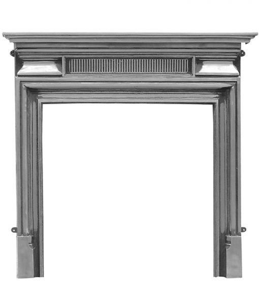 RX144 Belgrave Victorian cast iron fire surround