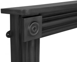 RX255 Carron Regent cast iron fire surround detail