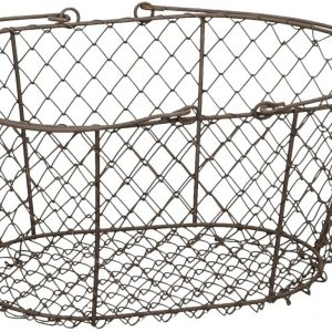 Vintage Wire Shopping Basket
