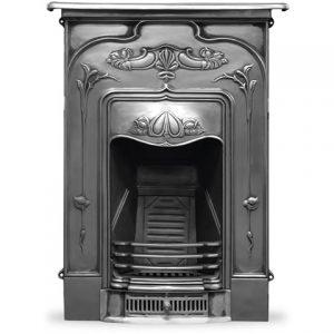 HEF044 Jasmine Fireplace Full Polish