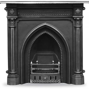 HEF055 Gothic Fireplace Highlighted