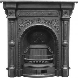 RX084 Tweed Fireplace Black
