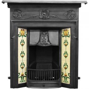 RX132 Morris Fireplace Black