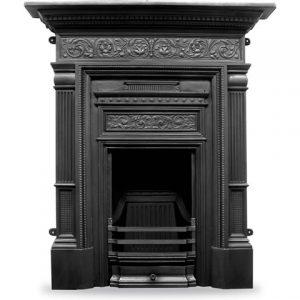 RX163 Hamden Fireplace Black