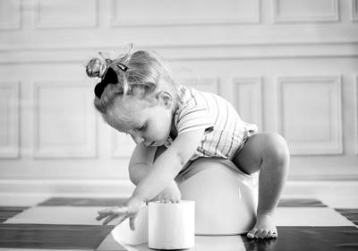 Pipi, caca et développement de l'enfant