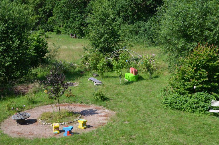 Garten mit Rondel