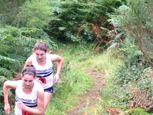 Emme & Oonagh JHI Trails Aberfoyle 2014