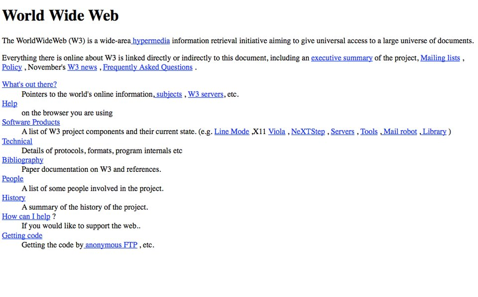 10 INTERESTING FACTS FROM THE HISTORY OF WEB DESIGN 1
