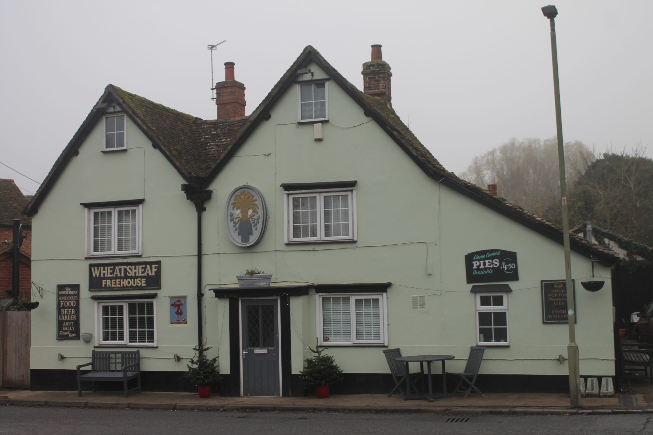 Oxfordshire, Drayton Website Design - The Wheatsheaf