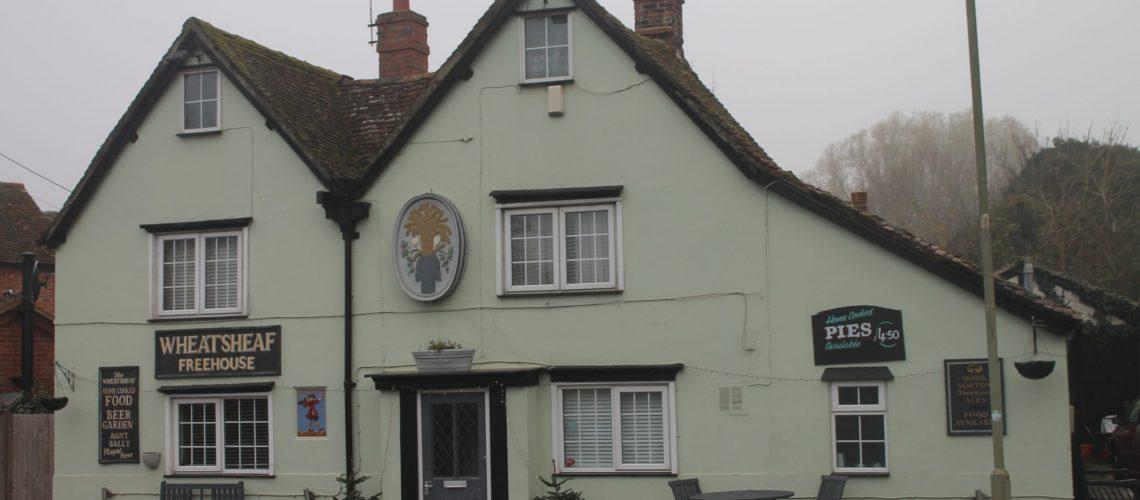 Oxfordshire, Drayton Website Design - The Wheatsheaf