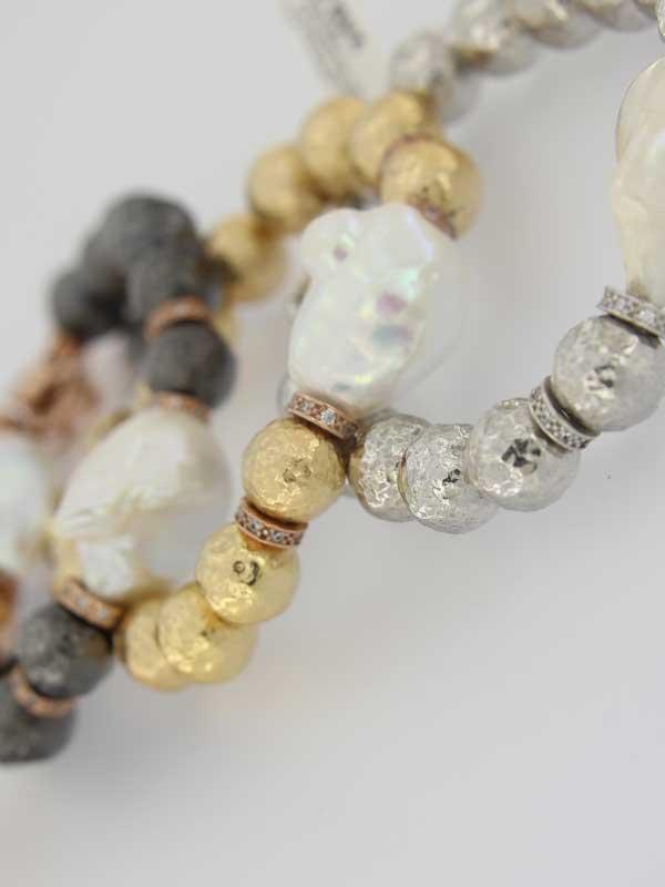 Pulseras en Plata 925 con Perlas Cultivadas PerlArt Majorca Pearls