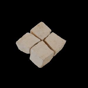 Pavés blanc beig