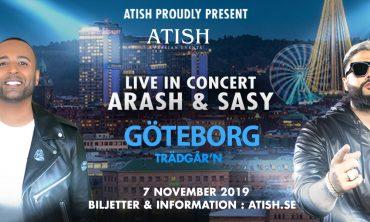 Arash & Sasy live in concert -Gothenburg