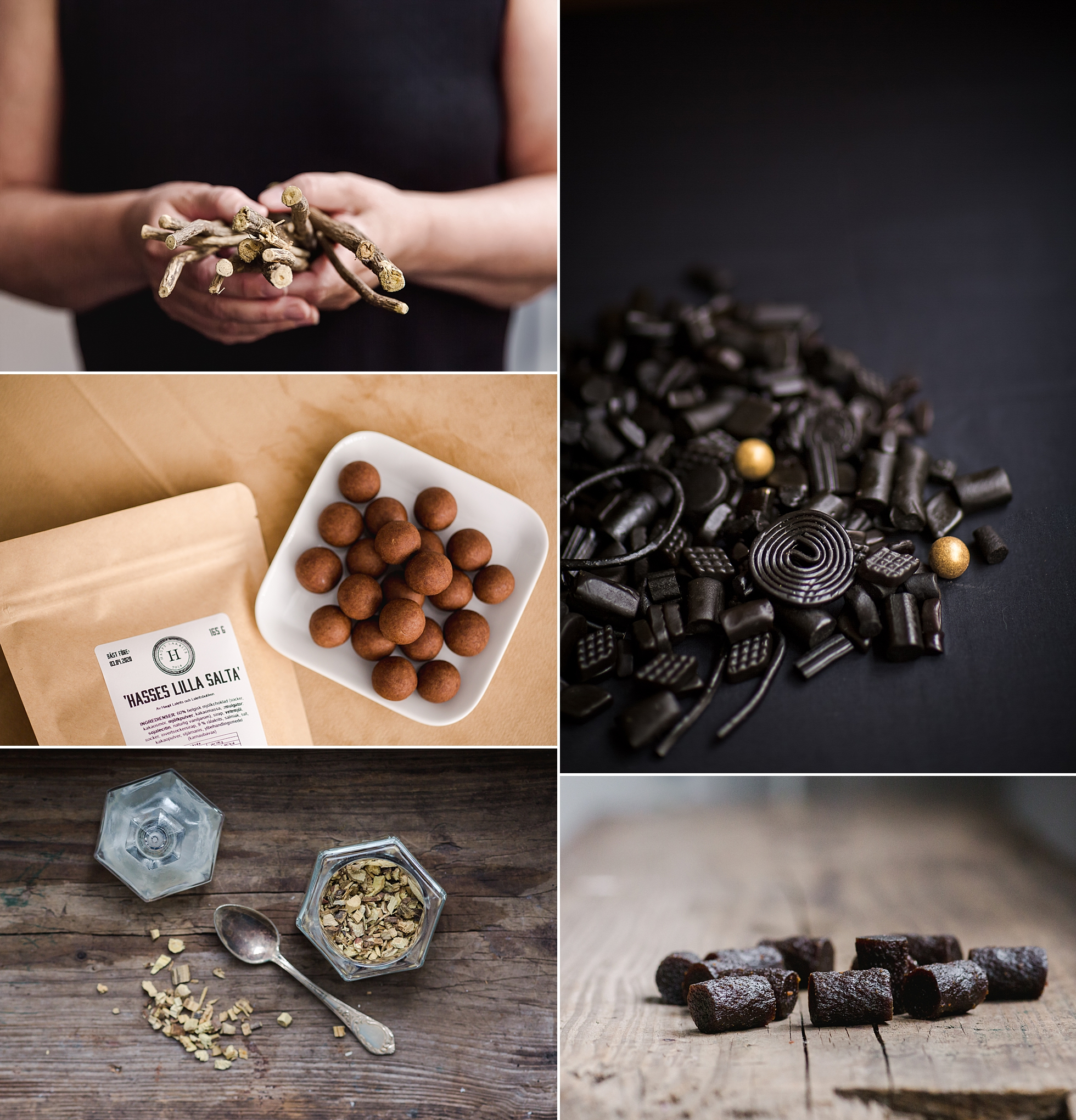 Product photography for Lakritsbutiken
