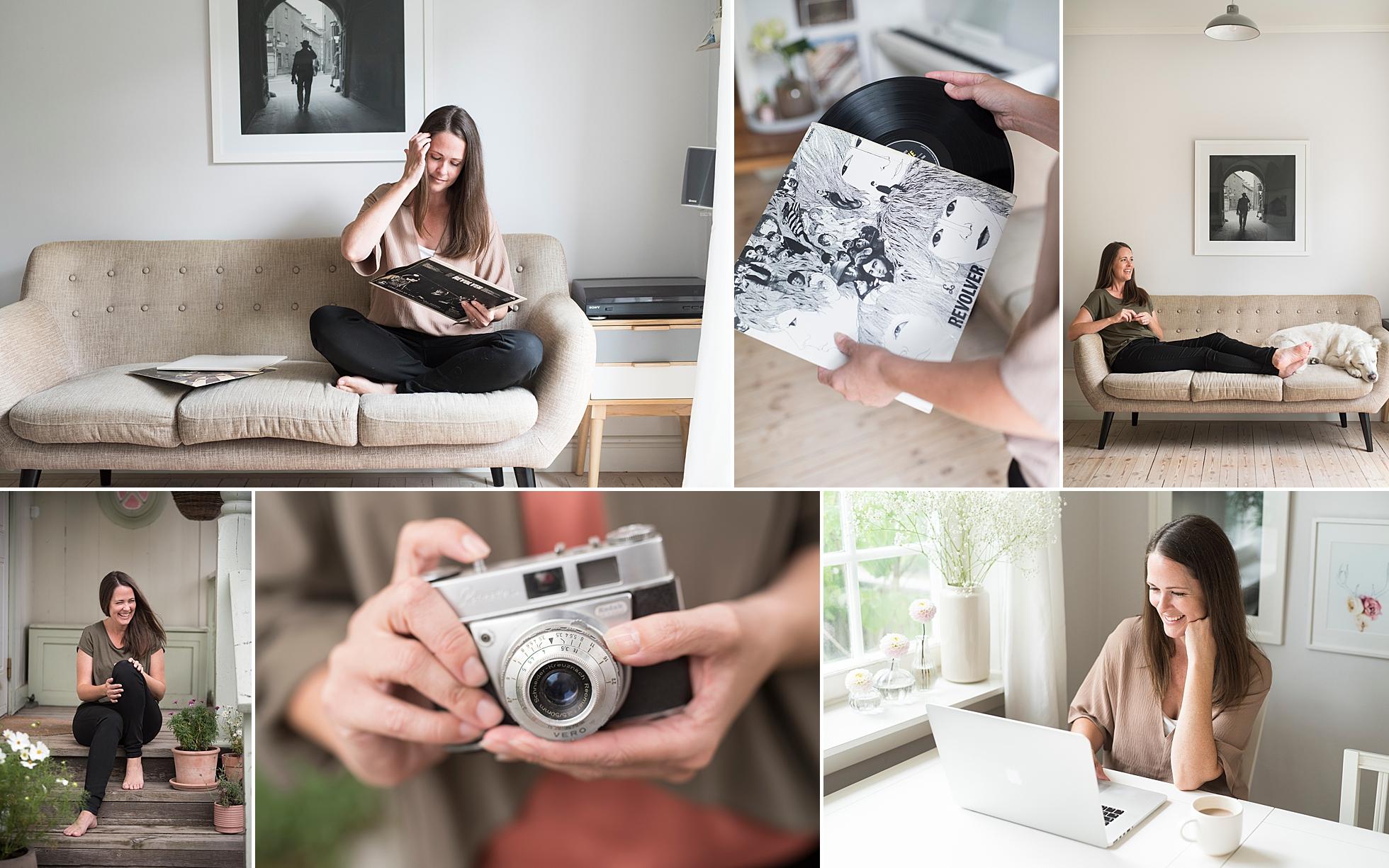 Branding photos of photographer Janine Laag