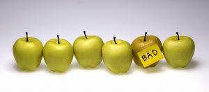 when apple turn bad