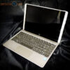 hp x2 hybrid laptop tablet silver open right side