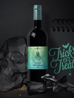 Vinetiketter till Halloween