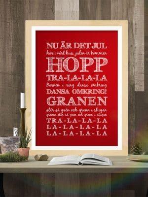 Poster Nu är det jul