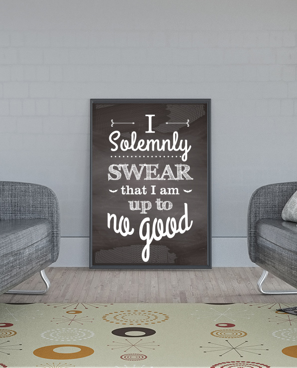 Poster I Solemnly Swear