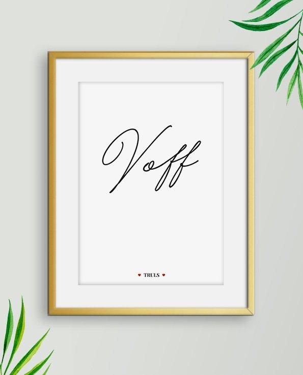 Poster Voff