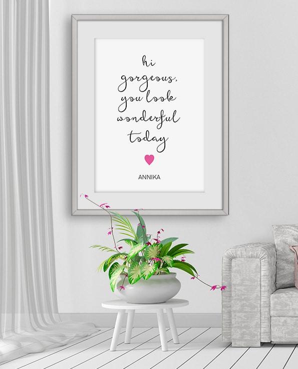 Poster Gorgeous