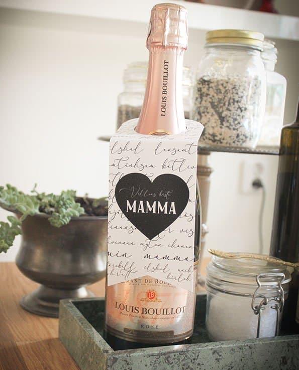 """Flaskhängare """"Världens bästa mamma"""""""