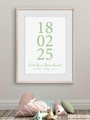 Poster födelsedatum