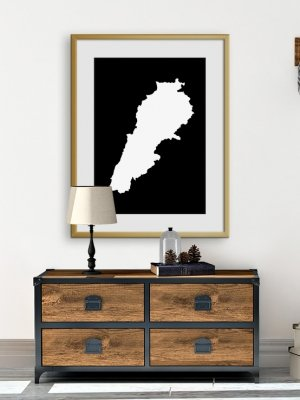 Karta valfritt land