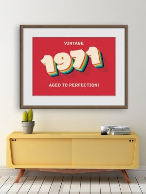 Poster Födelseår