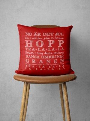 Kuddfodral Nu är det jul