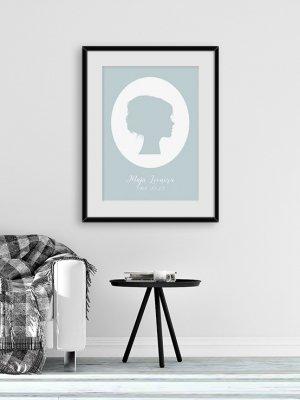 Poster Siluette