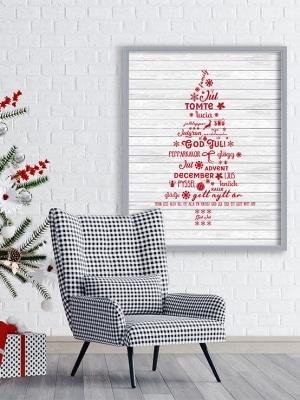 Poster Gran med text