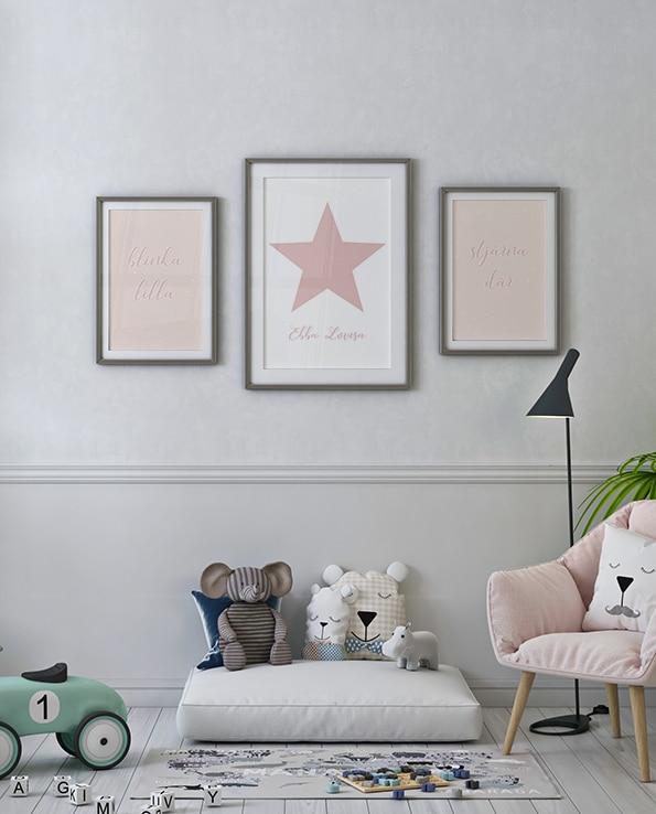 Poster Blinka lilla stjärna